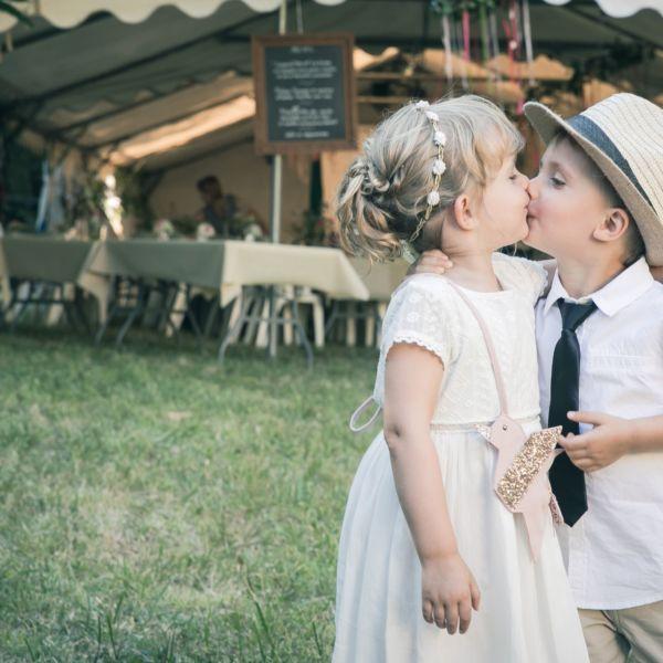 Photo mariage champêtre, campagnard, pastoral, paysan, rural, rustique